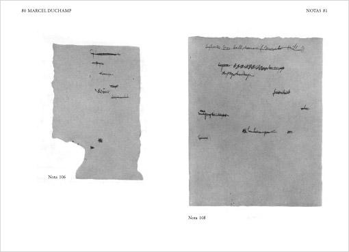 Vanesa Varela: Notas de Duchamp