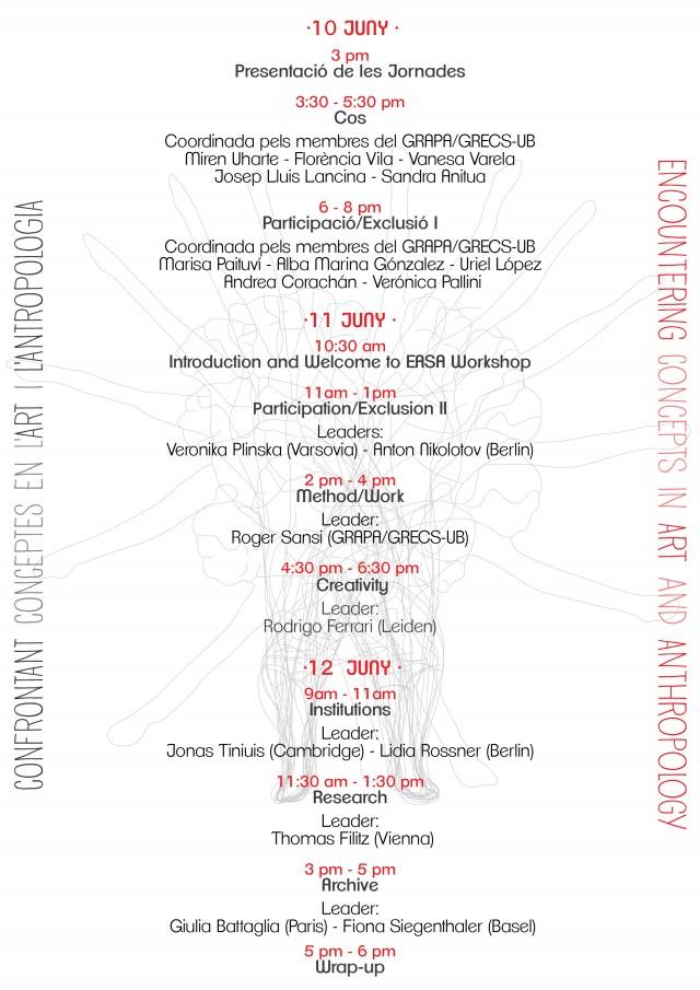 Programa Jornades GRAPA