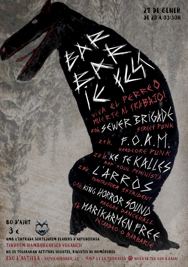 Cartell barbarie fest