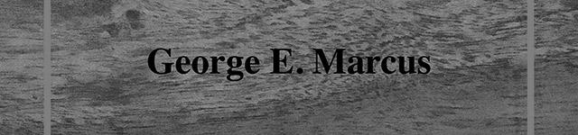 Seminari GRAPA Georges E. Marcus
