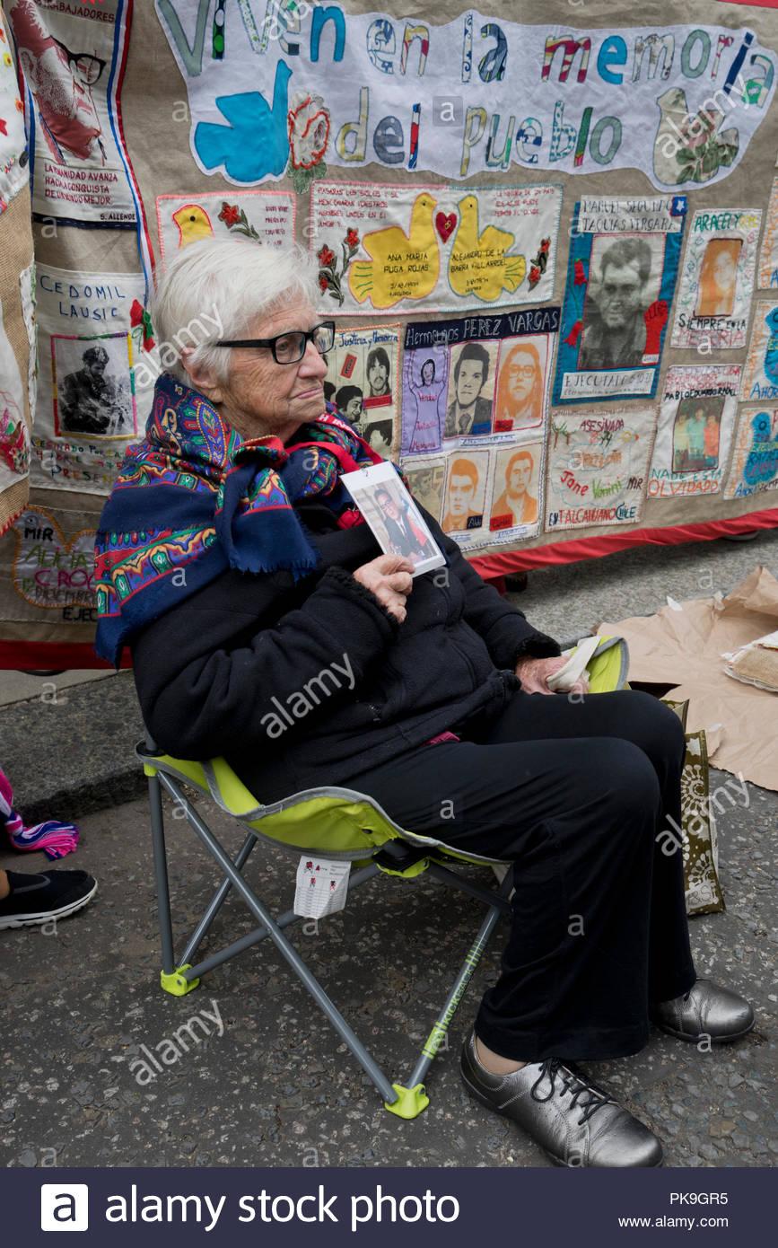 Bordados por la memoria golpe de estado chileno