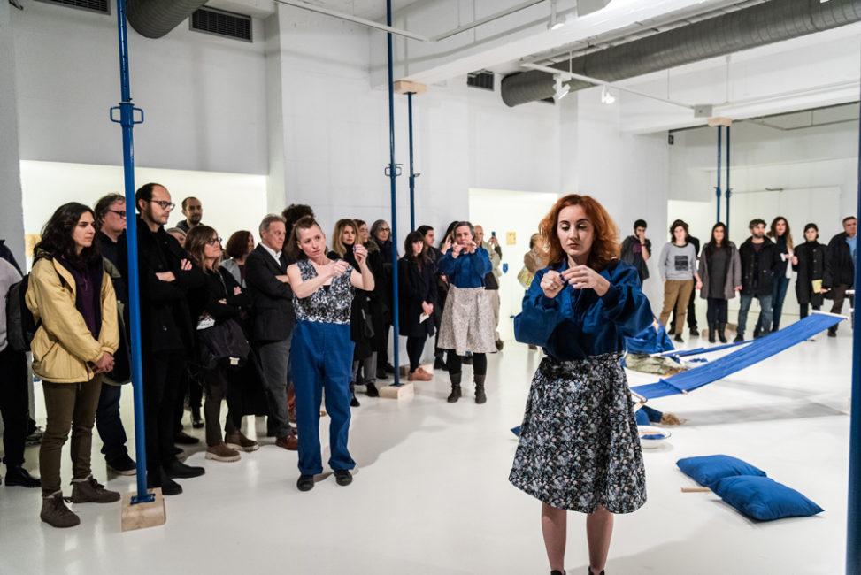 María Roja: Performance Fundació Joan Miró