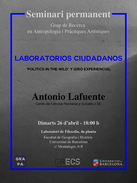 S eminari GRAPA Antonio Lafuente