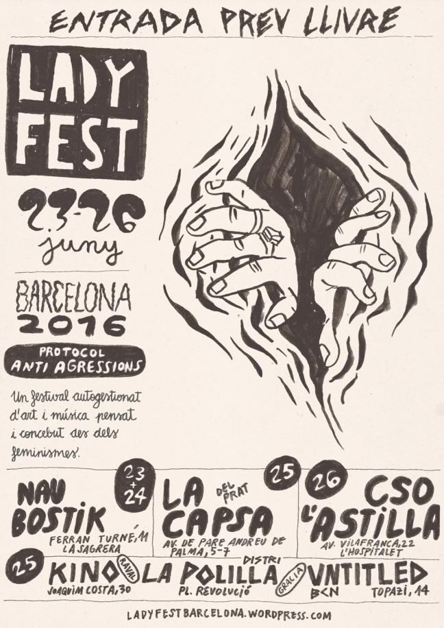 Ladyfest Barcelona 2016