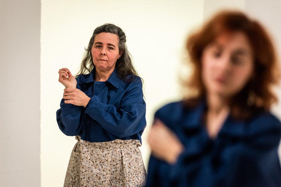 Performance Fundació Miró - María Roja