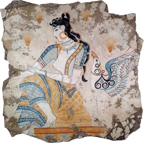 Fresco minoico